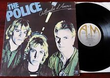 THE POLICE OUTLANDOS D'MOUR LP A&M (1978) EX- UK