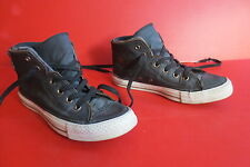 Converse Chucks All Star Textil Anthrazit mit Reißverschluss Gr.39  Nr.06 unisex