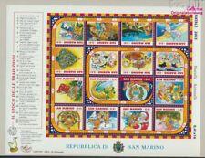 San Marino 2120-2135 ZD-Arc (compleet Kwestie) postfris MNH 2003 Kerst (9350581