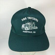 Vintage D & K Trucking Snapback Perryville MO Trucker Hat Truck Cap