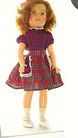 "1957  VINTAGE 17-1/2"" SHIRLEY TEMPLE DOLL IDEAL TOY ST-17-1 COLLECTIBLE HOME FIG"