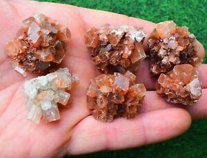 1 Aragonite Sputnik Cluster 3+cm Crystal Mineral Root Chakra Healing  UK BUY ✔