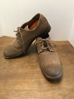 Hush Puppies Mens Brown Suede Leather Lace Up Oxford Shoes Size 12 M H103622