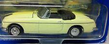 MGB 1969 Pale Primrose Yellow WHITE LIGHTNING MODEL Black RHD Inside 1:63 MG MGB