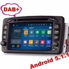 Android 5.1 Car dvd gps mercedes Benz w203 S203 CLK C209  W163 Viano Autoradio