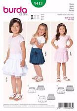 BURDA COUTURE MOTIF ENFANTS en bas âge robes tailles de Robe 6m - 3 ans 9413