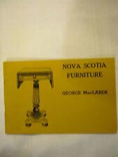 Nova Scotia Furniture By George MacLaren