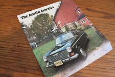 1969 Austin America color sales brochure, nice original