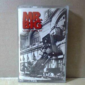 Mr. Big - Lean Into It (Cassette, 1991 Atlantic) t839