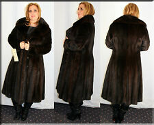 Ranch Mink Fur Coat Size Medium 6 8 M Efurs4less