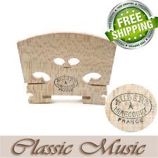 "Genuine Aubert Violin Bridge 4/4 ""Mirecourt"" Best Quality Bridges,Free shipping!"