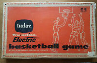 VINTAGE TUDOR 1960 TRU ACTION ELECTRIC BASKETBALL GAME **NEAR PRISTINE!!!**