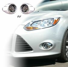 REPLACEMENT FOG LIGHT KIT FOR 2012-2014 FORD FOCUS: LAMPS, BULBS, BEZELS