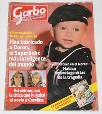 GARBO 1983 Caroline Monaco Isabella Ferrari King Fhad Arabia Beatles Mick Jagger