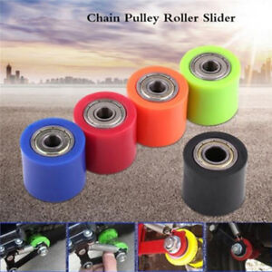1PC 8mm Chain Roller Slider Tensioner Guide Pulley Dirt Pit Bike Motorcycle sq