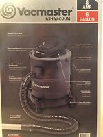 FIREPLACE VACUUM CLEANER VACMASTER  8 AMP 6 GAL NEW  STOVE ASH WOOD PELLET