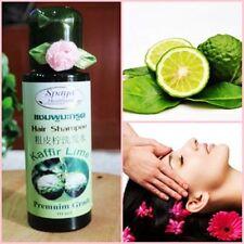 2x30 ml Spaya Shampoo Kaffir Lime Oil Bergamot Thai Herbal Thick Black Hair