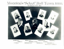 1888 KANSAS CITY BLUES 8X10 TEAM PHOTO  BASEBALL MISSOURI USA