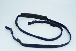 Vintage Minolta Black & Blue Camera SLR DSLR Shoulder Strap