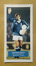 Manchester United / Ipswich Town (!) GEORGE BEST - Score UK trade card
