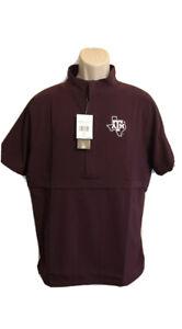 $70 Adidas Texas A&M Aggies Game Mode 1/4 Zip Pullover Men's Sz XXL EC3151 NWT