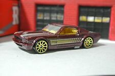 Hot Wheels '65 Ford Mustang Fastback - Brown - Loose - 1:64