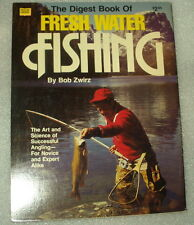 The Digest Book of Fresh Water Fishing by Bob Zwirz - Fast Free Shipping