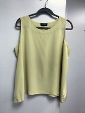 ESKANDAR sand/beige 100% silk blouse Size 2 (loose)