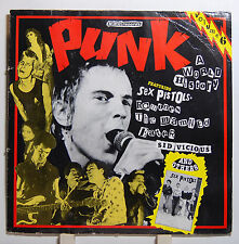 "Vinyl LP 12"" Punk A World History Vol. 6 MBC REC. VG"