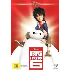 Big Hero 6 (Disney Classics) NEW DVD (Region 4 Australia)