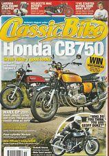 Honda CB750 Manx Norton Velocette Laverda James May's Honda 10/2011 Classic Bike