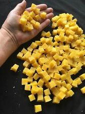 1lb -  pure BEESWAX  CUBES  from HONEY GLOW FARM