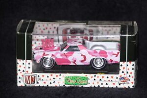 M2 MACHINES WILD CARDS WC03 1970 CHEVROLET EL CAMINO SS454 PICKUP PINK 1:64 NIB