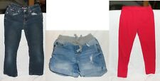 3 piece lot Girls Young Clothes Size 6 Bubblegum Jeans Justice Shorts Disney etc