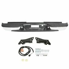 FOR 99-07 SILVERADO SIERRA 1500 2500 STAINLESS STEEL REAR STEP BUMPER FACE BAR