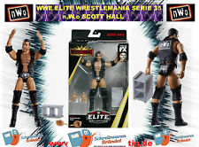 WWE MATTEL Elite Wrestlemania 35 SCOTT HALL nWo Wrestling Action Figur Raw WCW