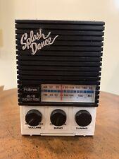 Splash Dance Pollenex Am/Fm Shower Radio Model Sr-1 Working