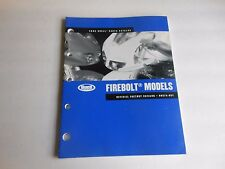 Buell Parts Catalog Firebolt Models 2005 Official Factory Catalog # 99574-05Y