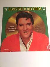 "ELVIS' PRESLEY 12"" Sealed Record Album ELVIS' GOLD RECORDS Volume 4 RCA LPM-3921"