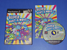 Super Bust-A-Move 2 (Sony PlayStation 2) PS2 1-2 player game Rated E everyone