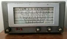 Hallicrafters S-38D Tube Ham Radio Shortwave Receiver Tested and Working 1950's