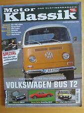 Motor Klassik 2/08: VW Bus T2, Ferrari Dino, MG C GT, Käfer, Alta 1100 Le Mans