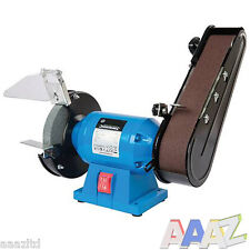SILVERLINE METALWORK BENCH GRINDER AND BELT SANDER 6 INCH 6""