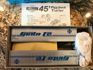 Athearn HO Scale Santa Fe 45' Trailer Kit, Set Of 2 Athearn #5606 Intermodal NOS