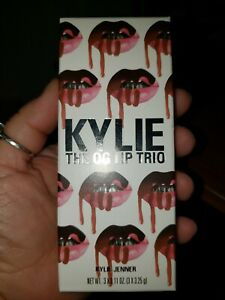 Kylie Jenner *The OG Lip Trio* Collectio Liquid Lipstick NIB - Full Size 0.11 oz