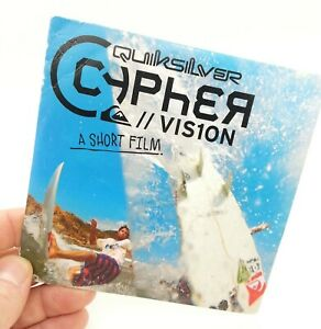 QUICKSILVER CYPHER VIS1ON Vision A Short Film DVD Movie 2010 Rare Collectable