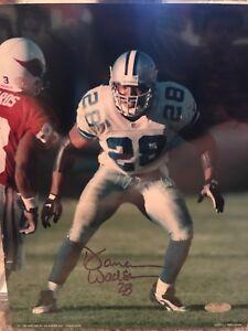 Darren Woodson Signed Dallas Cowboys 8x10 Photo Steiner