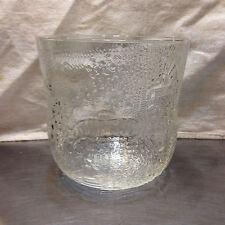 Arabia Glass Oiva Toikka FAUNA Bowl/Large Vase/Ice Bucket