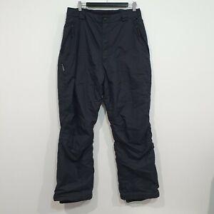Columbia Sportswear Womens Black Snow Ski Pants Size XL Extra Large Snowboarding