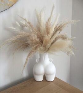 LARGE WHITE 21cm Tall  Peachy Bum Vase Flower Pot Love Handles Hips bottom Booty